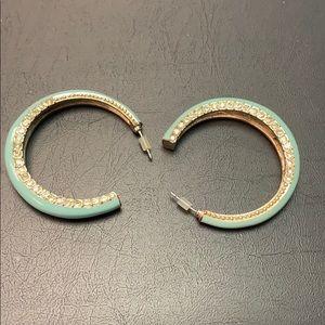 Avon Piercing  Earrings Set With Stones
